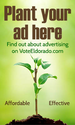 Advertise on VoteEldorado.com