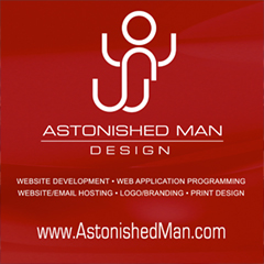 Website Development - Astonished Man Design
